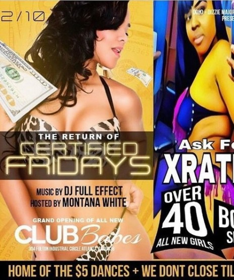 Atlanta strip club under fire for planned star